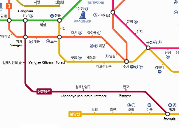 Shinbundang Line