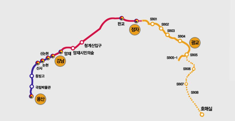 Shinbundang Line Extension