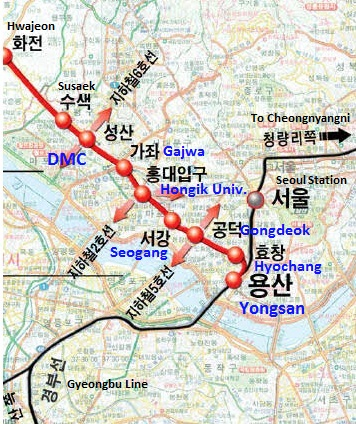Gyeongui Line Extension