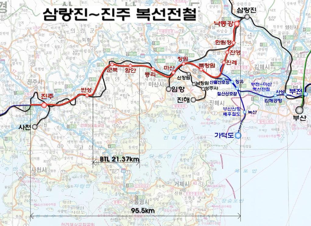 Jinju KTX Plan