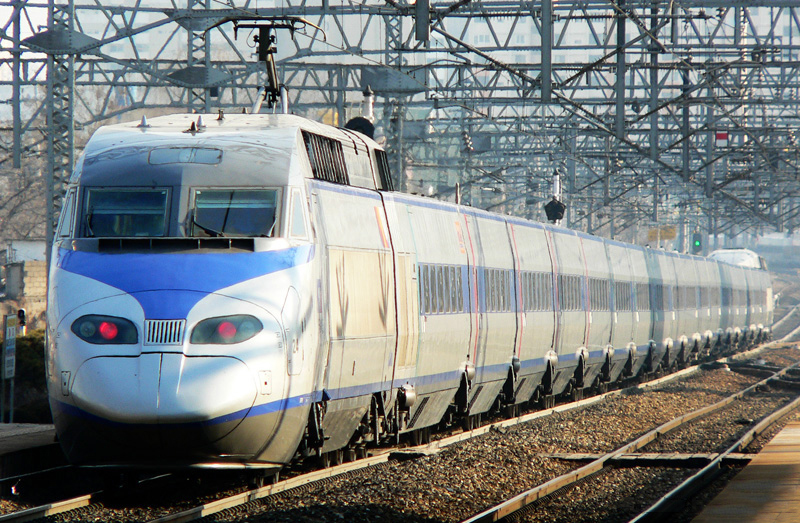 Korean Bullet Train KTX