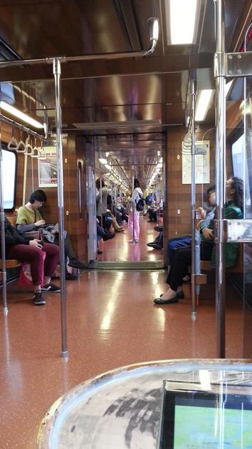 Train in Taipei