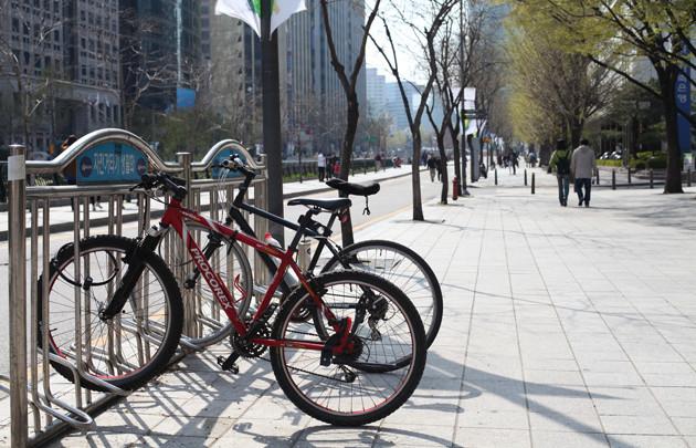 Cycling App Korea Rewards