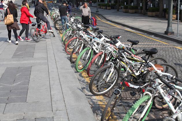 Bicycle Event Cheonggyecheon