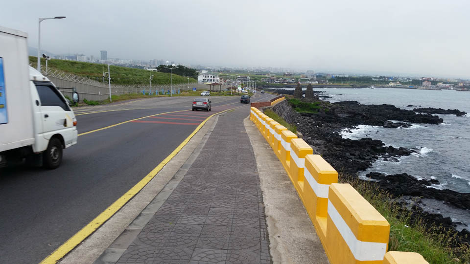 Coastal Cycle Path Jeju