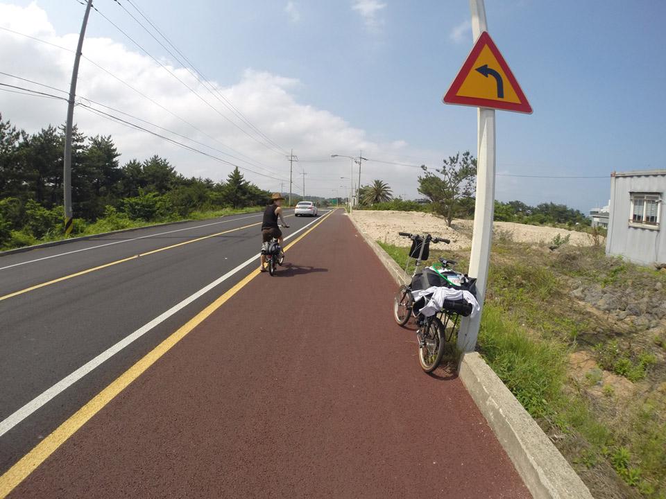 Cycling Jeju-do