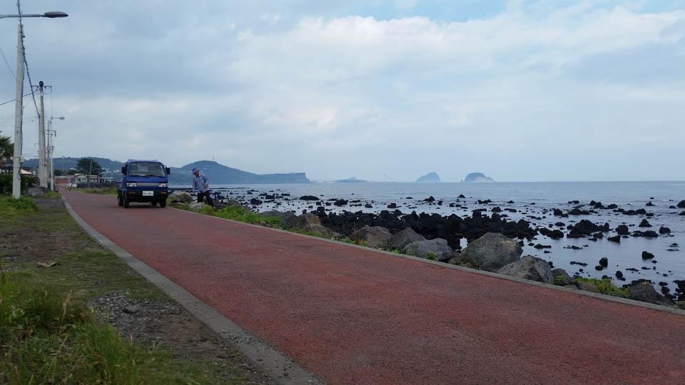 Cycling on Jeju-do