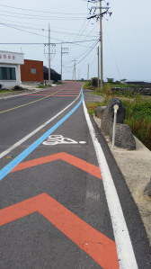 End of Bicycle Path Jejudo