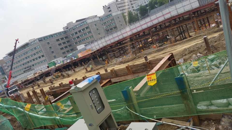 Yonsei University Construction