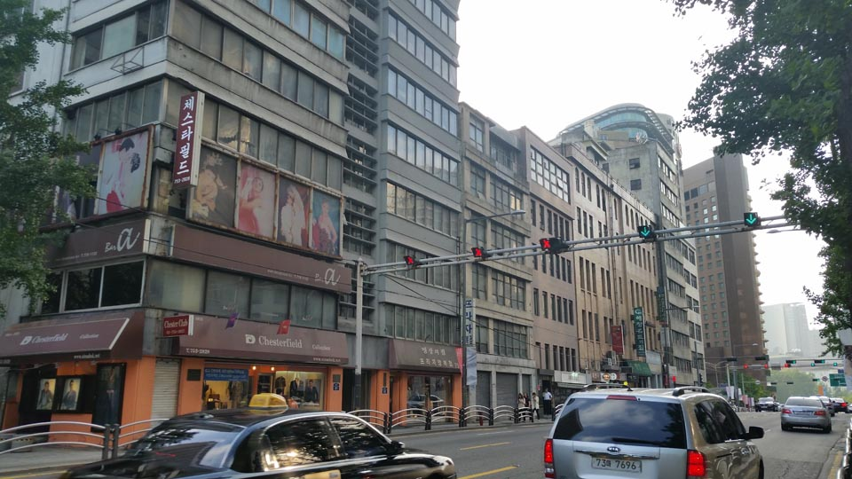 Seoul Sogong Parking Lot
