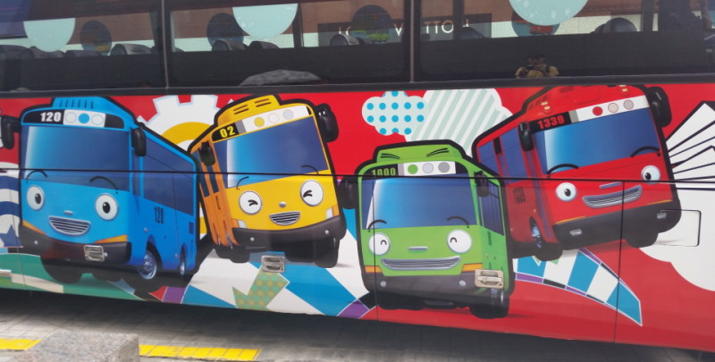 Tayo Bus Seoul