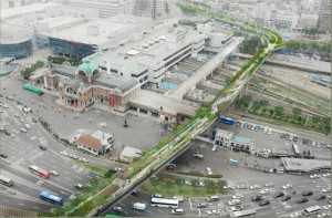 Seoul Station Overpass First Design