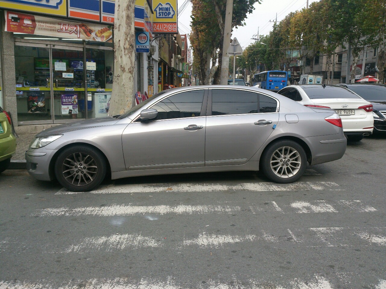 Parking on Crosswalk