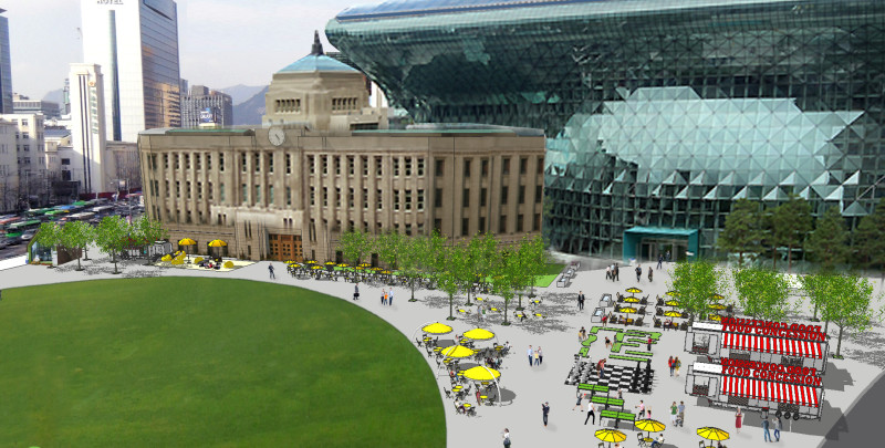 Seoul City Hall Plaza Proposal