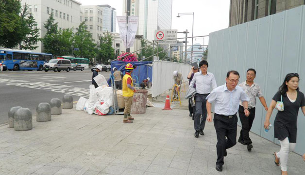 Seoul Pedestrians