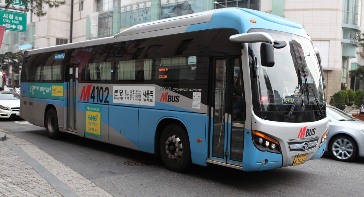 Foreign Car Photo >> Bus System in Seoul and Korea