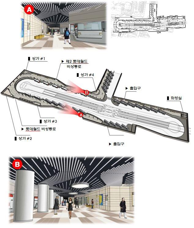 Concept Plan for Jamsil Underground Bus Center