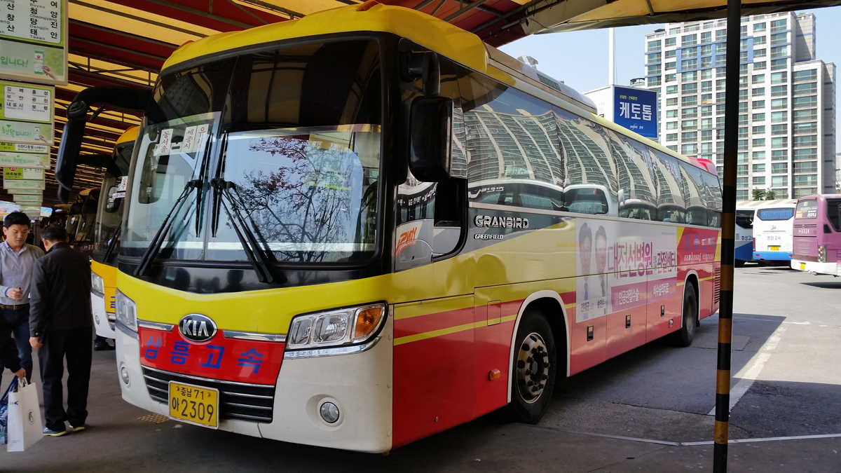 Intercity Bus System in Korea