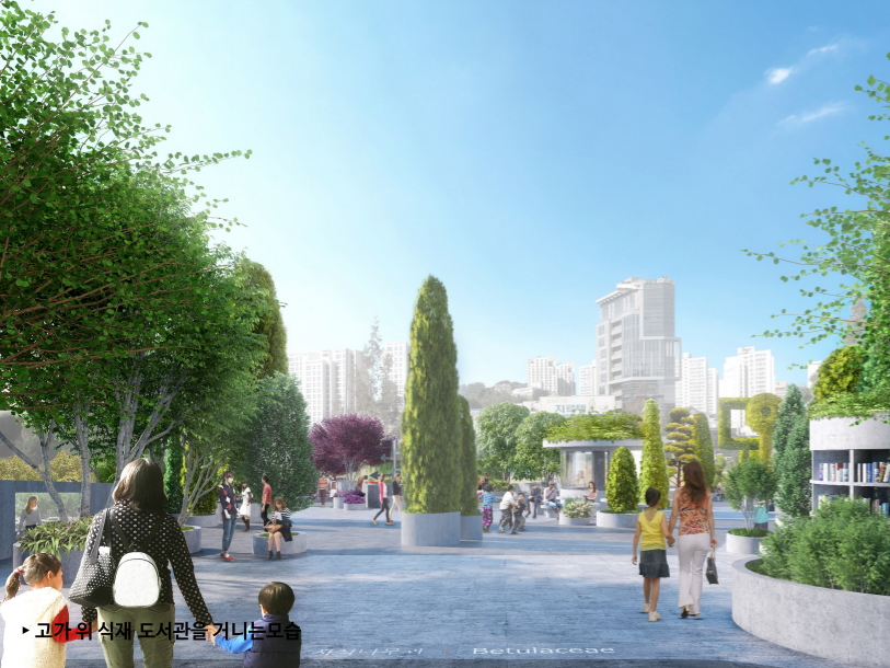 Seoul 7017 Tree Concept by MVRDV