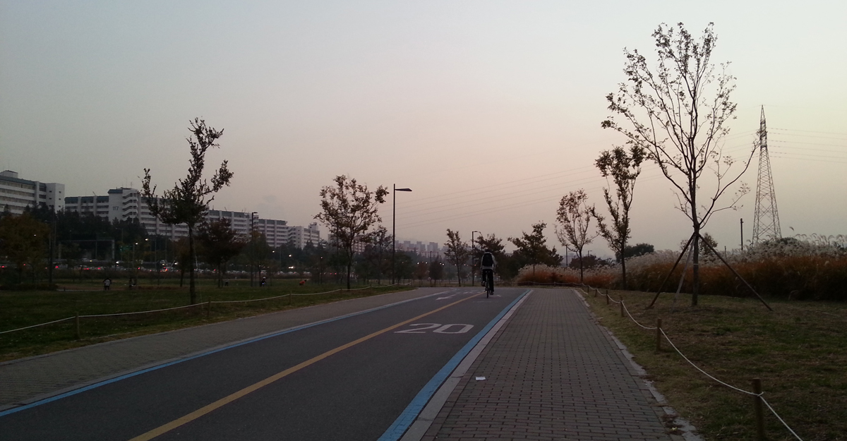 Han River Bike Path