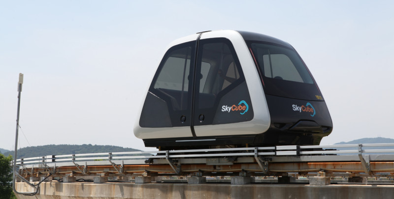 Personal Rapid Transit System SkyCube