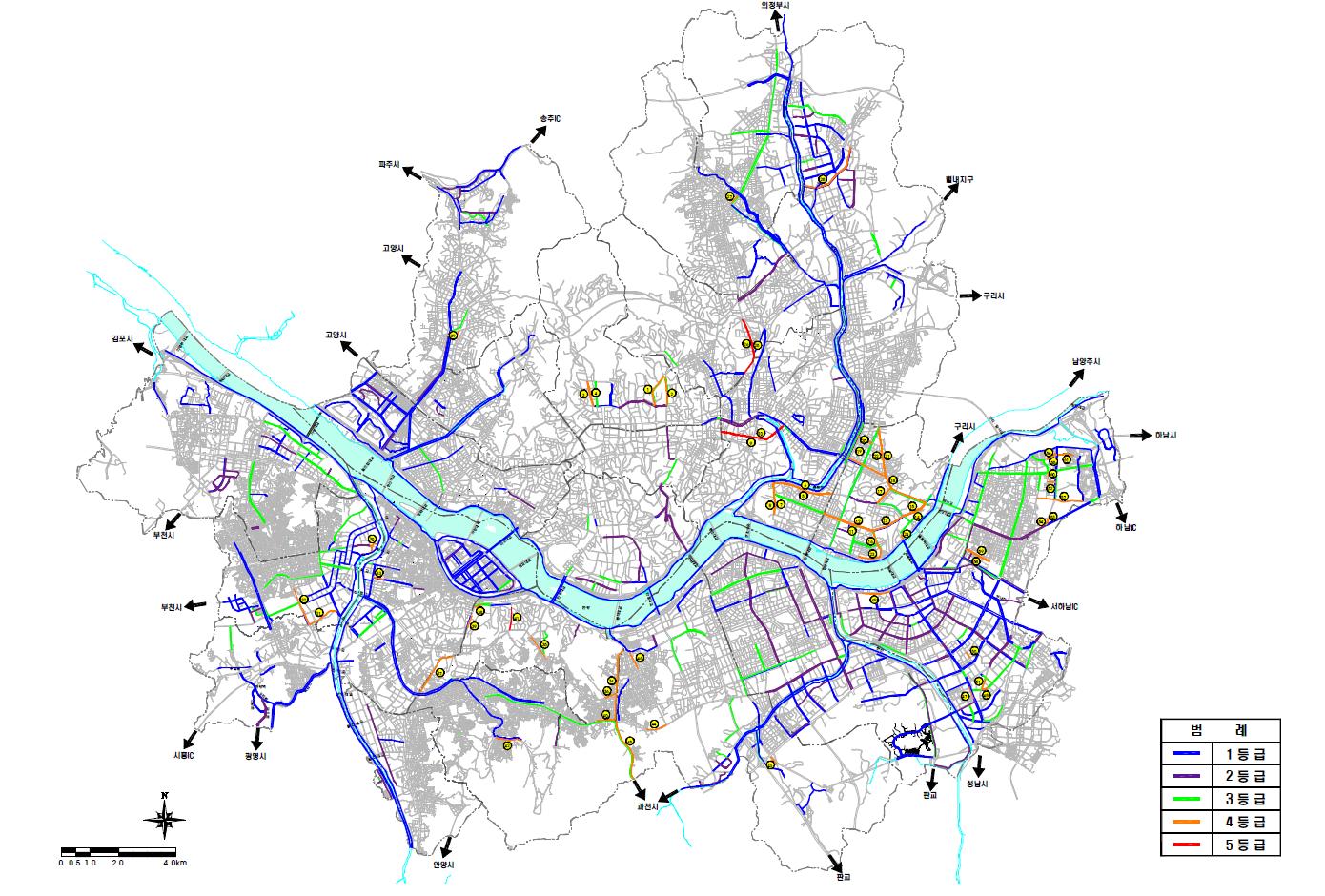 Seoul Bicycle Path Quality