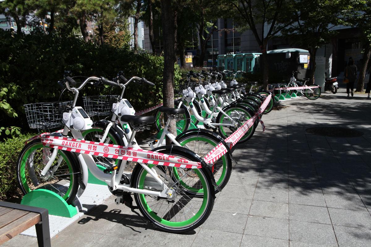 Seoul Public Bicycle Station