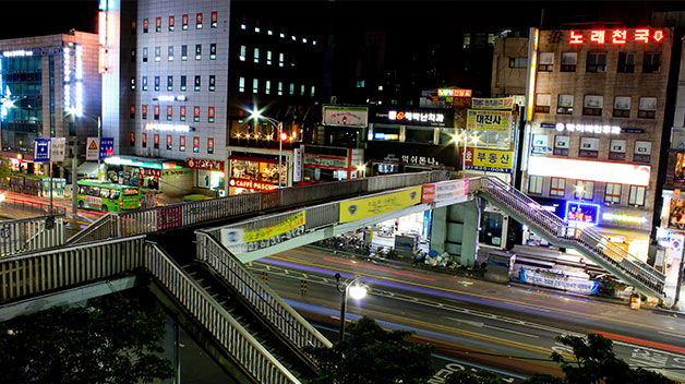 Seoul says goodby to the Noryangjin Overpass after 35 years.