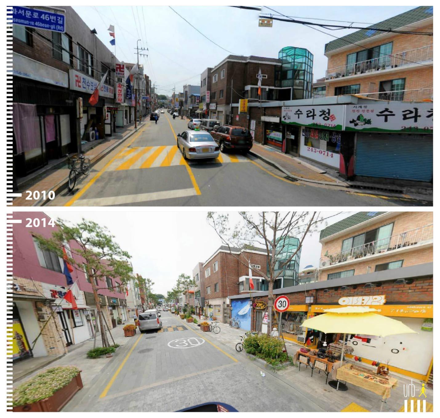 Hwaseomun-ro in Suwon