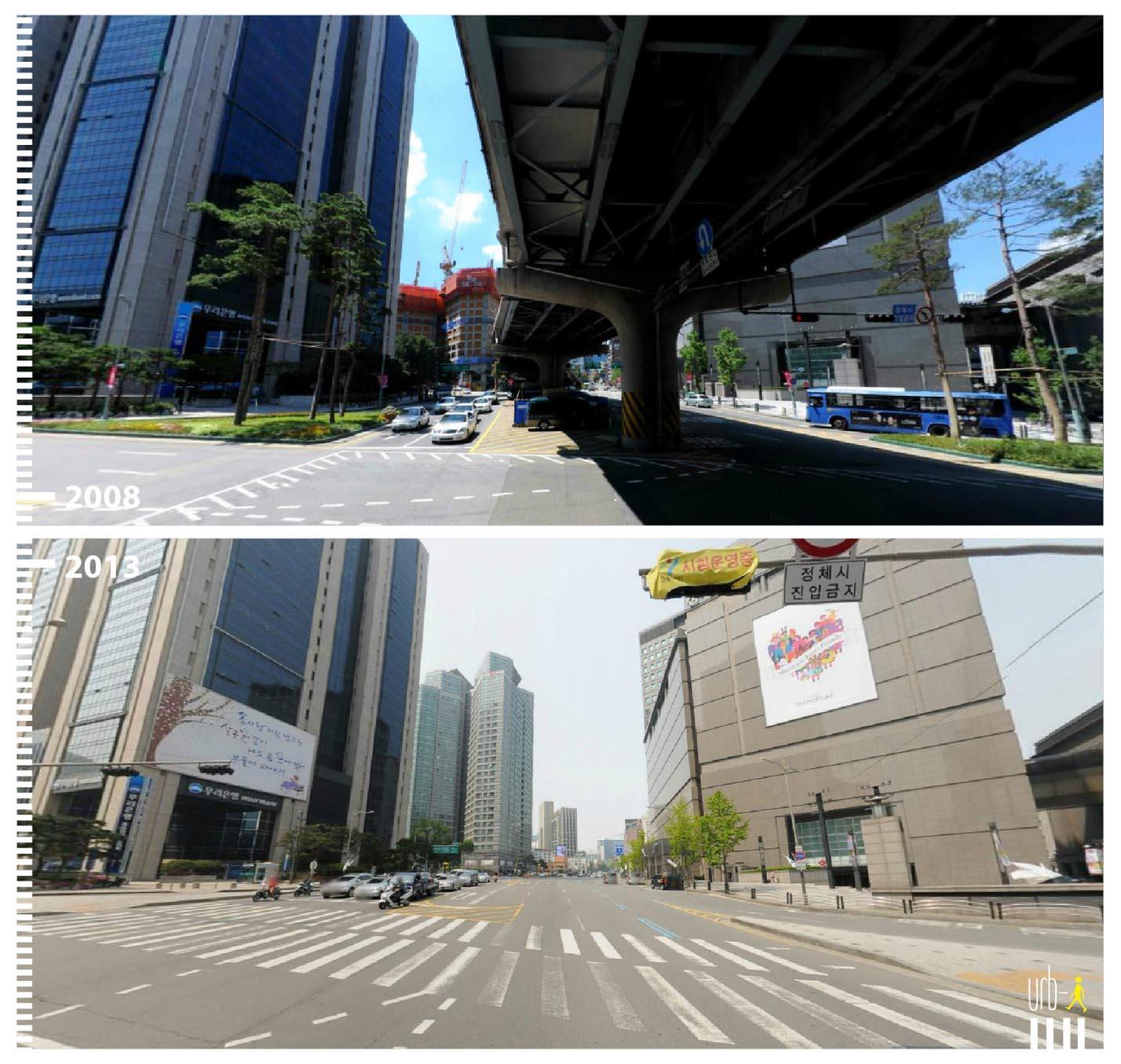 Toegye-ro in Seoul