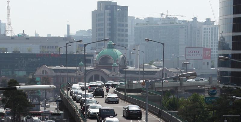Seoul Station Overpass Closure