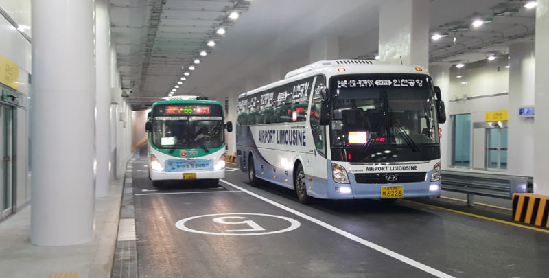 Underground Bus Station