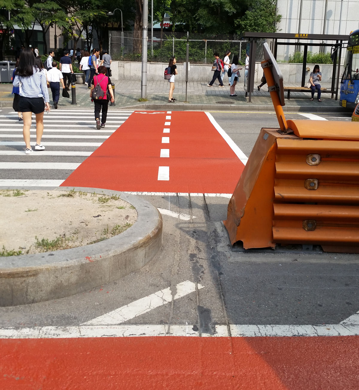 Seoul Bicycle Crossings Problem