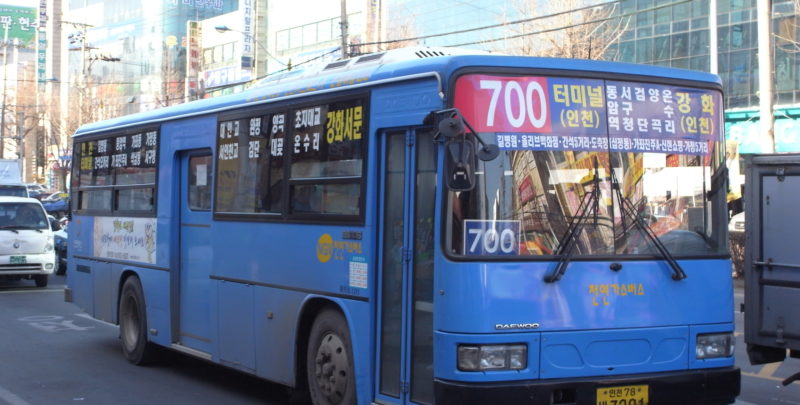 incheon bus