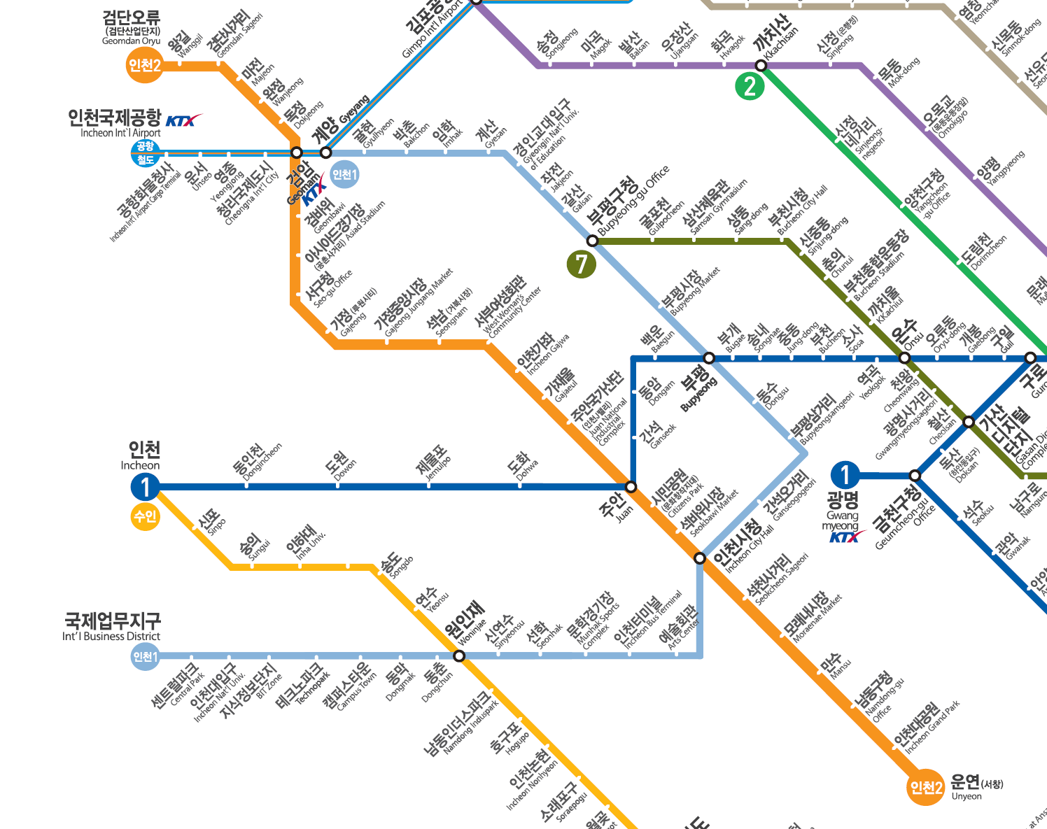 Seoul Subway Map 2015.South Korean Subway Lines Seoul Metro Busan Daegu Gwangju