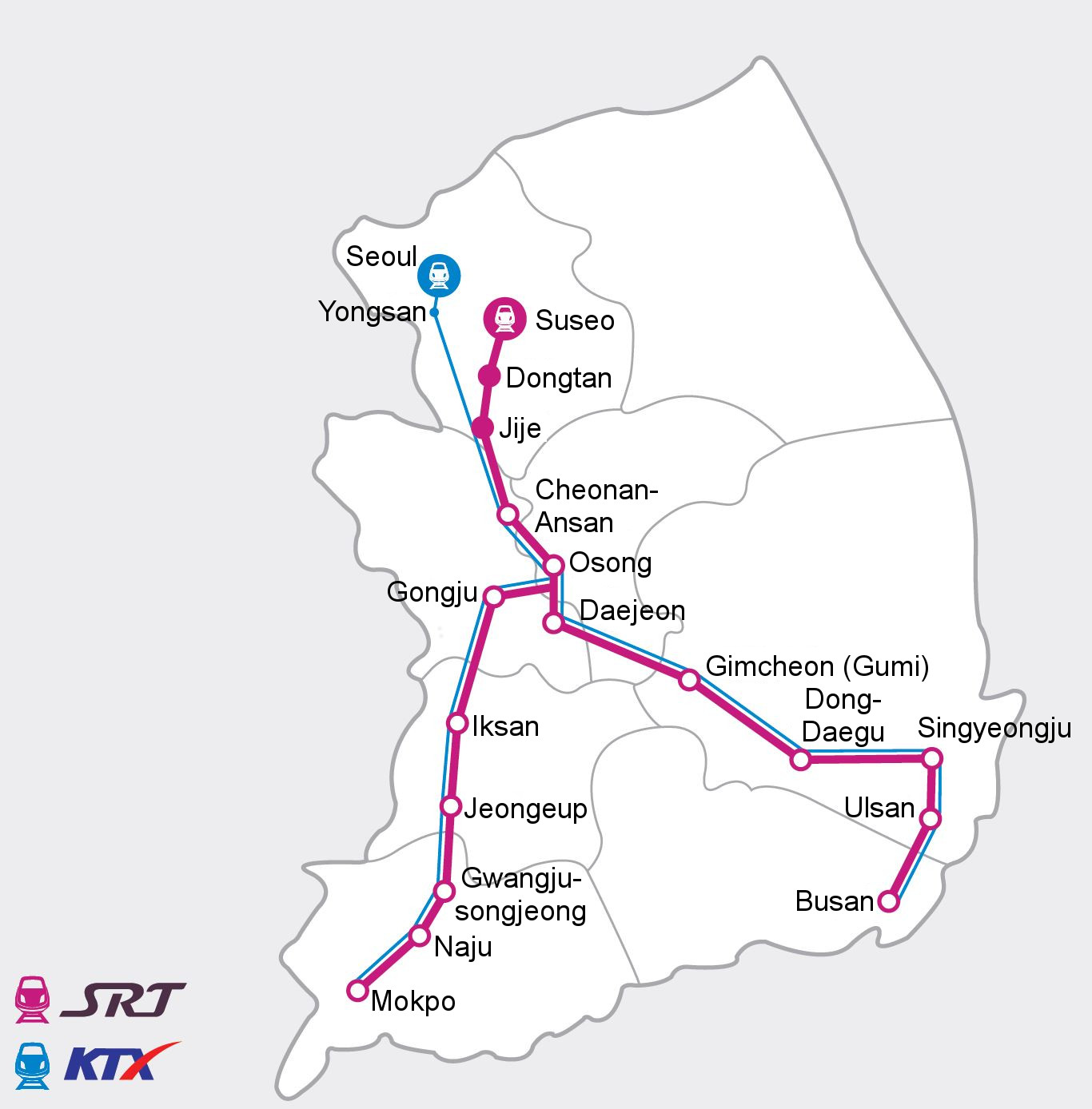 Suseo SRT Timetables Travel Information And Fares. Cheonan Weather ...