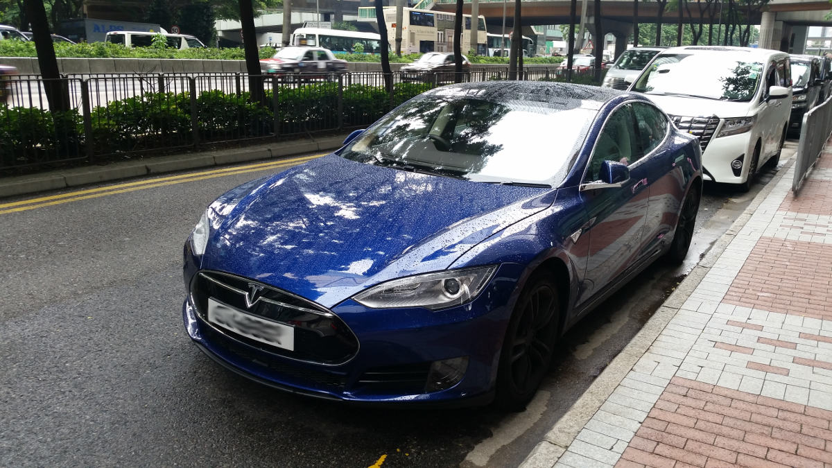 Hong Kong Tesla Model S